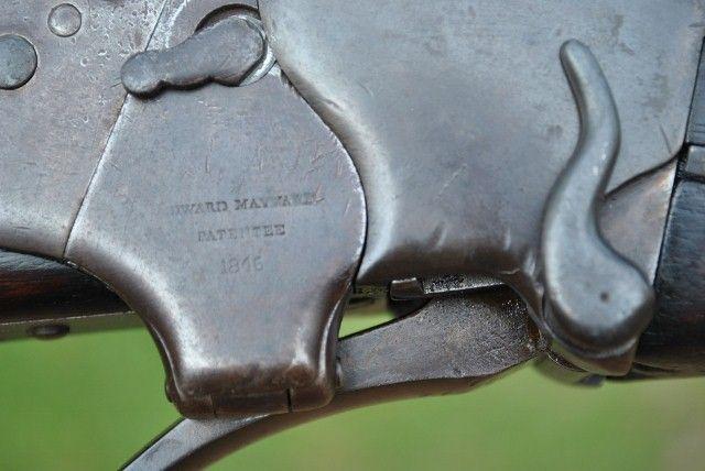 Sharps M1851  52 Cal  Percussion Box Lock Carbine serial