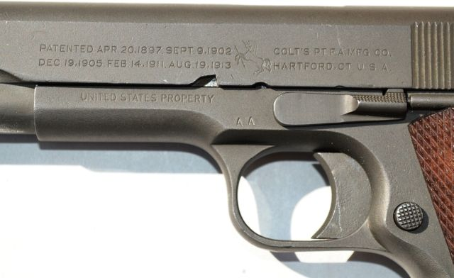 SHANGHAI VOLUNTEER CORPS China Colt 1911 Pistol #330 - Warpath