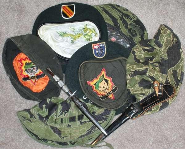 Vietnam Special Forces SOG Beret Knife