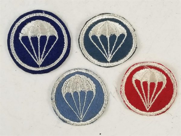 WWII US Airborne Overseas Cap Patches