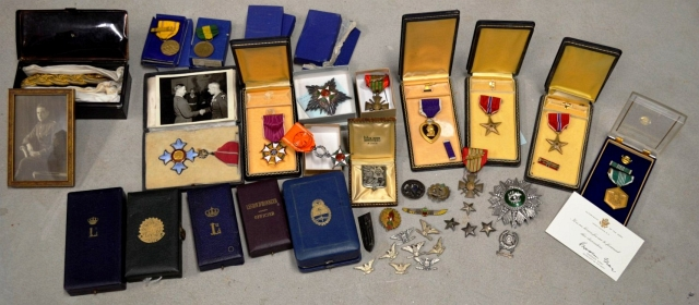 WWII US Army Brigadier General Allen Frederick Kingman Medal and Uniform Grouping