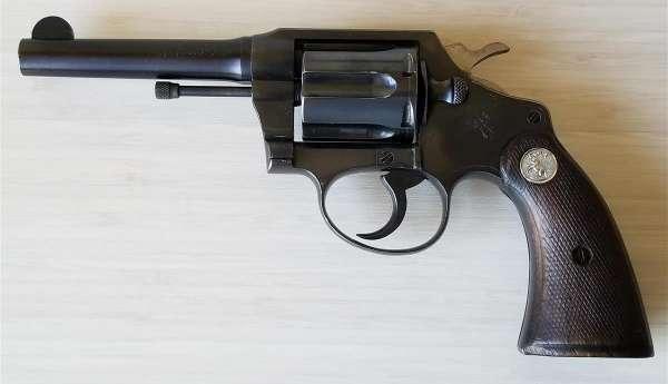 Colt Police Postive Revolver US CUSTOMS