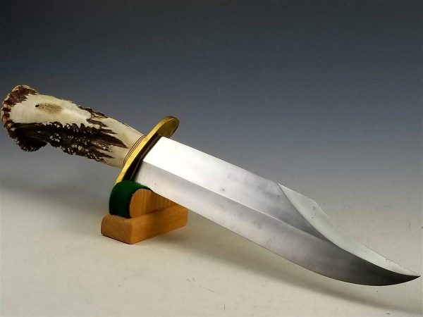 Custom Randall Bowie Knife with Stag Horn Grip