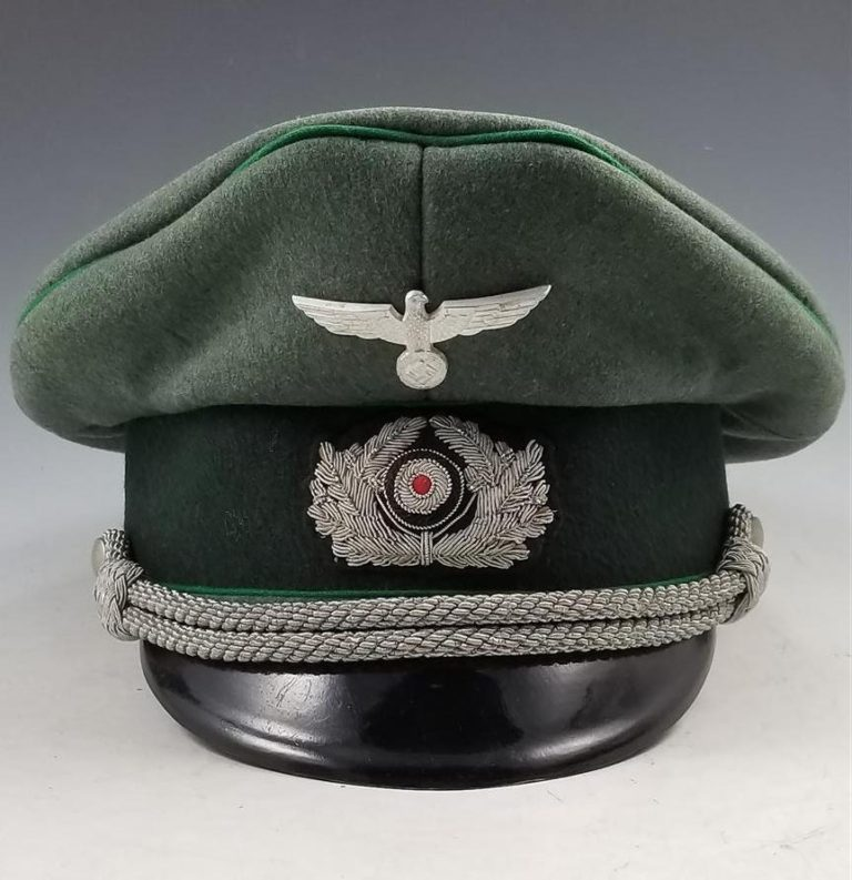 WWII German Army Administration Officer's Visor Cap