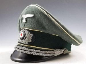 WWII German Army Infantry Officer's Visor Cap