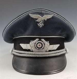 Luftwaffe Officer Visor Cap Schellenberg