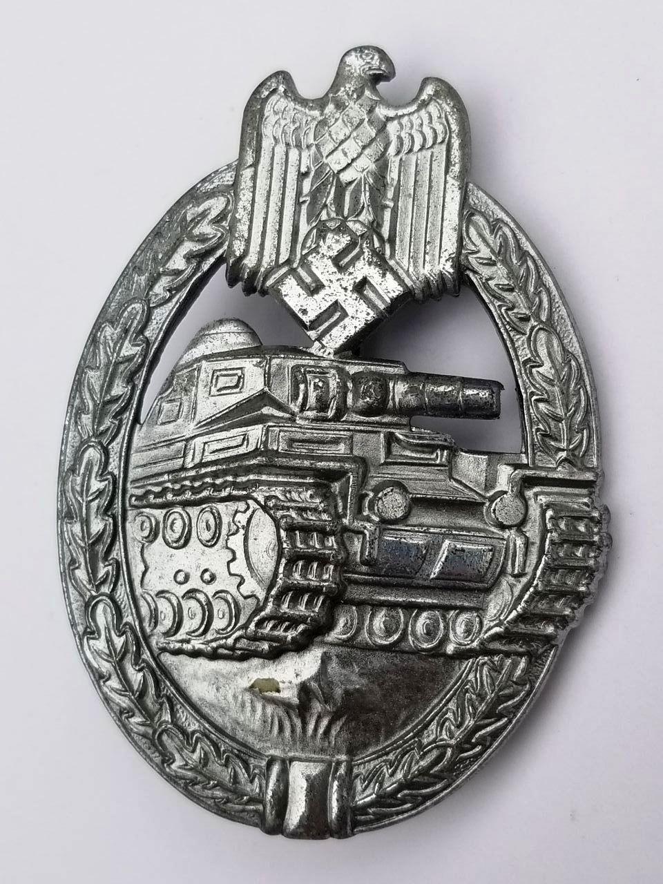 WWII German Army & SS Panzer Assault Badge
