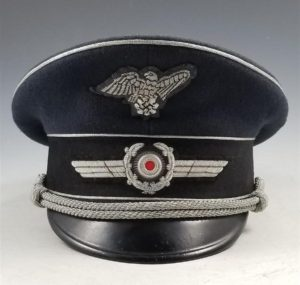 WWII German RLB Officer's Visor Cap