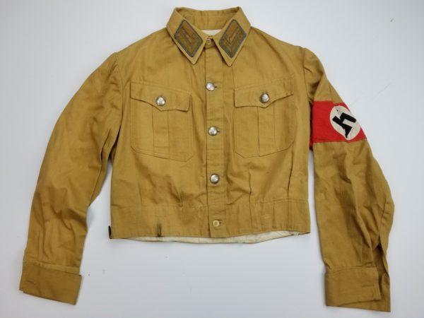 NSDAP SA Mann Brown Shirt