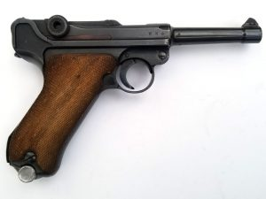 WWII German 1939 S/42 P.08 Luger 9mm Pistol