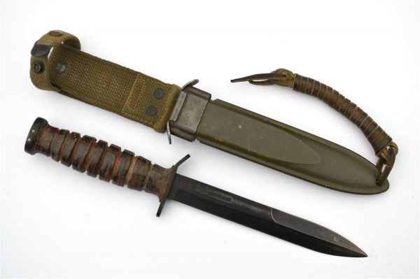 WWII CAMILLUS US M3 Fighting Knife Blade Stamped