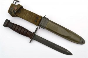 US M1 Carbine CASE M4 Bayonet