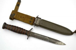 WWII IMPERIAL US M3 Fighting Knife Blade Stamped