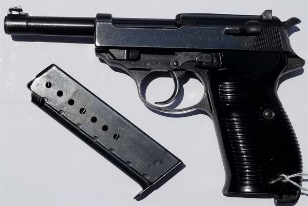 WWII German WALTHER ac44 P.38 9mm Pistol