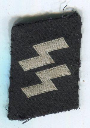 Waffen SS Runes Collar Tab