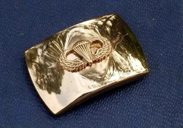WWII Airborne Sweetheart Jewelry Jump Wing Scarf Slide