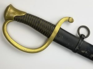 French Artillery Sword Model 1829