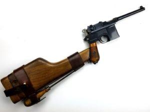 German Mauser Model 1930 Pistol and Stock Holster