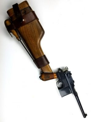 German Mauser Model 1930 Pistol and Stock Holster