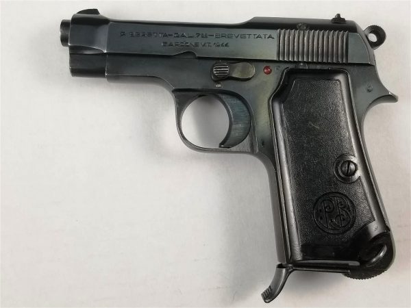 WWII German Issue Beretta Model 1935 Pistol with 4/UT Stamp