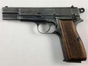 Nazi FN Hi Power Pistol