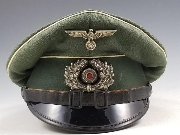 WWII German Army Infantry Enlisted Man's Visor Cap