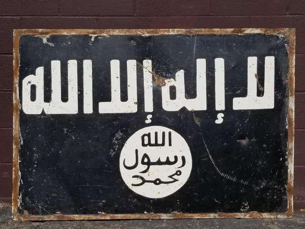 GWOT ISIS Sign Raqqa Syria