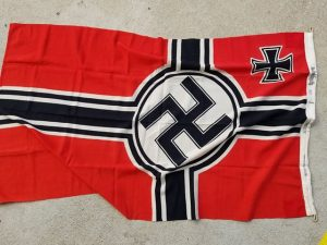 WWII German Kriegsmarine Flag