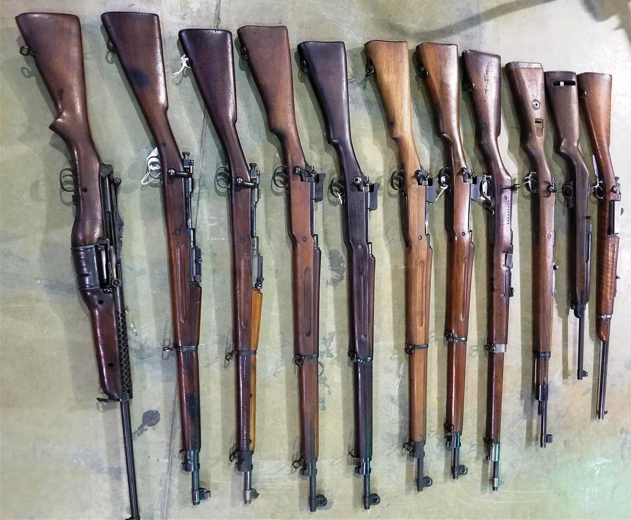 Military Gun Collection