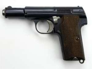 WWII German Astra 300 9mm Kurz Pistol