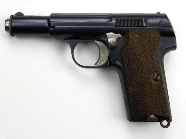 WWII German Astra 300 9mm Kurz Pistol