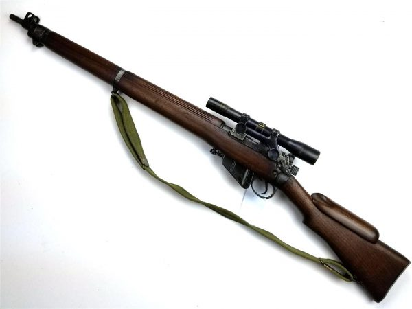 WWII British No. 4 Mk 1* Sniper Rifle