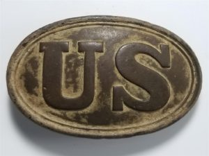 Civil War US Belt Plate