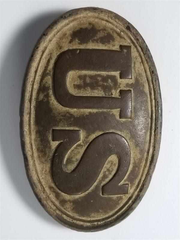 Civil War US Belt Plate