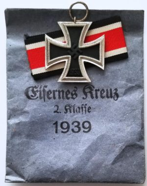 """Klein & Quenzer A.G., Idar/Oberstein """"65"""" Iron Cross 2d Class"""