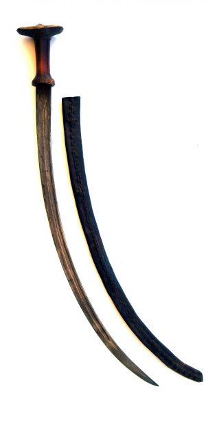 Antique African Abyssinian Ethiopian SHOTEL Sabre Sword