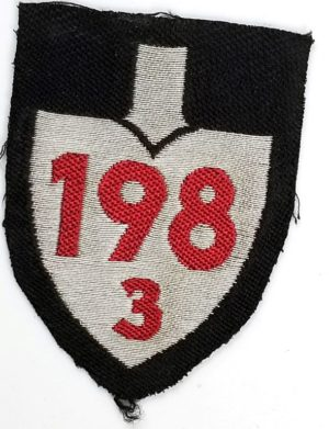 WWII German RAD Unit Sleeve Insignia