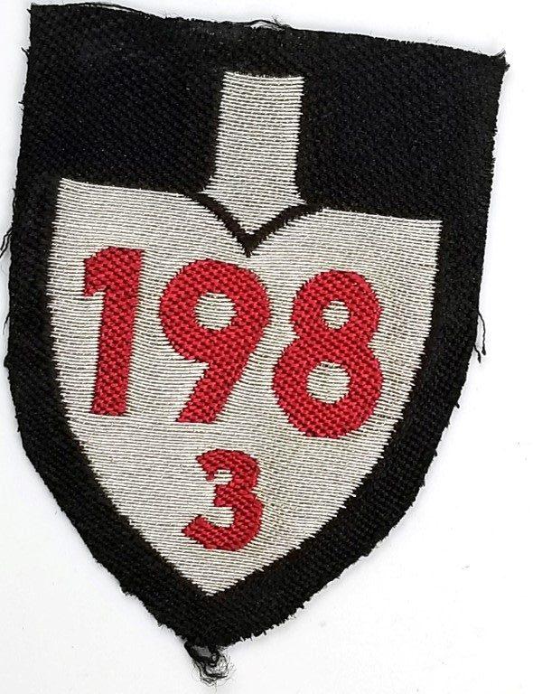 WWII German RAD Unit Sleeve Insignia