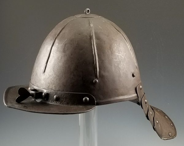 17th Century Zischägge Lobster Tail Cavalry Helmet