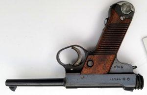 WWII Japanese Type 14 8mm Nambu Pistol