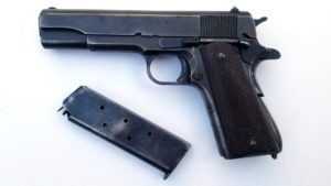 WWII US REMINGTON RAND MODEL 1911A1 .45 PISTOL