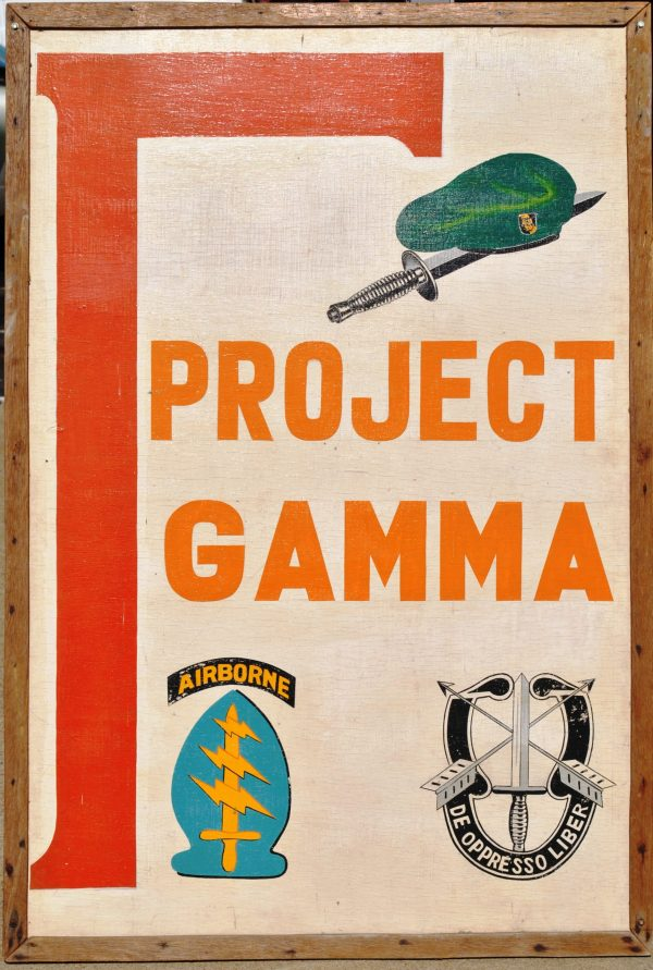 Project Gamma Sign