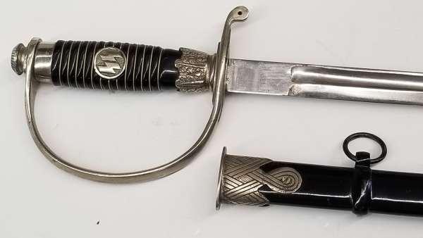 Dachau SS Officer Sword