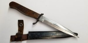 ww1 german kampfmesser boot knife