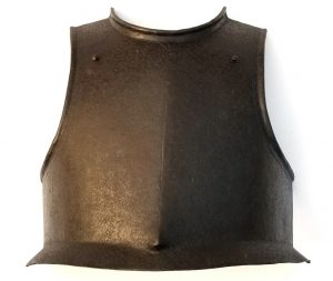 Original 17th Century ENGLISH CIVIL WAR Era ARMOR BREASTPLATE