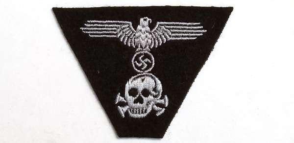 Waffen SS Overseas Cap Insignia