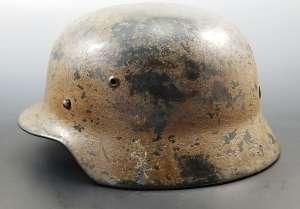 Luftwaffe-Camo-M35-Helmet